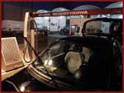 Obiekt wyposażony jest w 6 niezależnych stanowisk przeznaczonych do zbierania zanieczyszczeń suchych i mokrych wewnątrz pojazdu.
